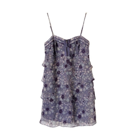 American Eagle Outfitters Dresses & Skirts - AEO | Purple Floral Sun Dress